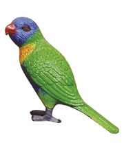 Australian Bird Replica - Rainbow Lorikeet 4 cm