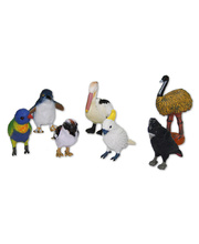 Australian Bird Replica - Set of 7