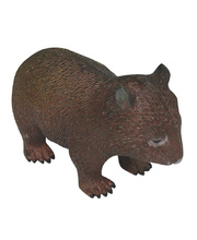 Australian Animal Replica - Common Wombat 10cm