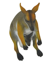 Australian Animal Replica - Yellow Footed Rock Wallaby 12cm