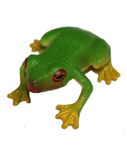 Australian Animal Replica - Red Eyed Green Tree Frog 5cm