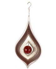 *Wind Spinner - Silver Tear Drop 17 x 15 x 30cmH