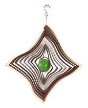 *Wind Spinner - Silver Diamond 30 x 20 x 30cmH