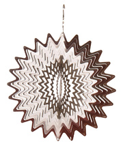 *Wind Spinner - Silver Splash 30 x15 x 30cmH