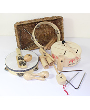 Natural Percussion Musical Set - 15pcs