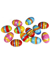 Egg Maracas - Wooden 12pcs