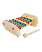 Blue Ribbon Tubular Bar Xylophone - 19 x 30.5 x 9.5cmH