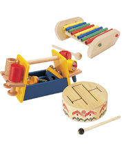Early Years Wooden Musical Instrument Set - 8 Instruments