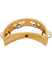 IQ Plus Half Moon Wood Tambourine - 15cm
