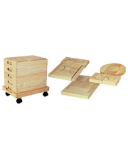 Project Blocks With Trolley - 5 Trays 192pcs
