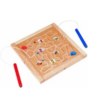 Blue Ribbon Magnetic Maze Board