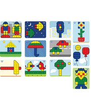 Mosaic Super Pegs - Models Board 12pk SET A