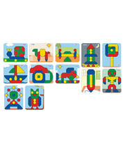 Mosaic Super Pegs - Models Board 12pk SET B