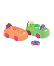 *Shaw Push-Pull Cars & Magnet Set