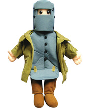 *Ned Kelly Hand Puppet