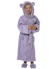 *SPECIAL: Wobe Wascals Dressing Gown & Accessories - Purple - Size 3-5 Years