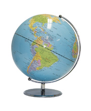 Light Blue Ocean Globe - 30cm