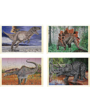 Dinosaur Puzzles - Pack of 4
