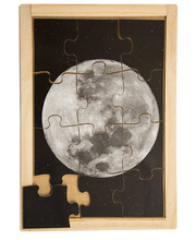 Space Puzzle - Moon 12pcs