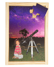 Space Puzzle - Telescope 12pcs