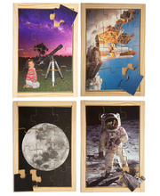 Space Puzzle - Set of 4