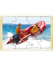 Emergency Services Puzzle - Life Savers In Rubber Duckie 12pcs