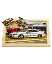 Emergency Services Puzzle - Police Car 12pcs