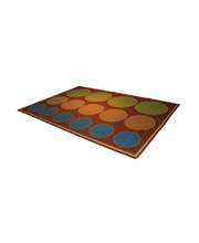 *Natural Seating Mat - Rectangle Circles & Sizes 3 x 2m