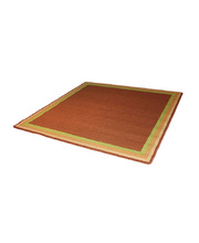 *Natural Seating Mat - Square Plain With Border 2 x 2m