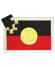 Flag Puzzle - Aboriginal 12pcs