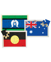 Flag Puzzle - Set of 3