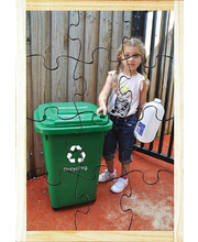 Our Environment Puzzle - Recycling in Recycling Bin 12pcs