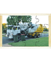 Our Environment Puzzle - Recycling Truck 12pcs