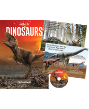 Land Of The Dinosaurs Book & CD
