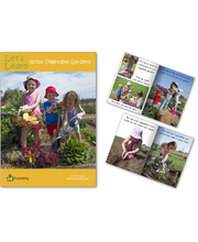 Big Book - Let's Learn about Vegetable Gardens