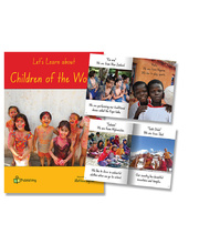 Big Book - Let's Learn about Children of the World