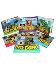 Evo 3D Visual Reality Books - Set of 7