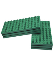 *SPECIAL: Coko Base Plate For Nursery Coko Bricks - Small 12 x 6 Studs 6pk
