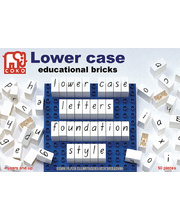 COKO Lower Case Letters - 50pcs