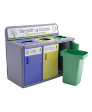 Three Way Recycling Station