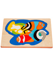 Fox Layered Puzzles - Reef Fish 64pcs
