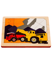 *Fox Layered Puzzles - The Quarry 67pcs