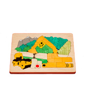 *Fox Layered Puzzles - Road Building 48pcs
