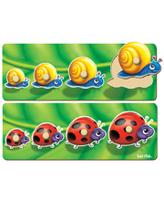 Tuzzles Snail And Ladybug Sequence Puzzle