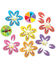 Tuzzles Ladybird Flower Colour And Count Game