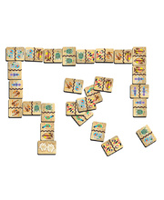 Tuzzles Aboriginal Art Dominoes Game