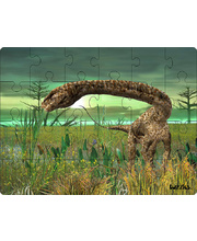 *SPECIAL: Tuzzles Real Dinosaur Table Puzzle - Apatosaurus 24pcs