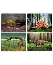 *Tuzzles Real Dinosaur Table Puzzle - Set Of 4
