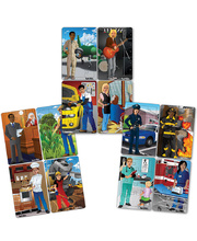 Tuzzles Multicultural Occupations Puzzles - Complete Set of 12
