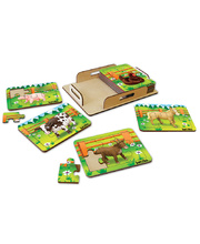 Tuzzles Farm Animal Puzzles - Set of 8
